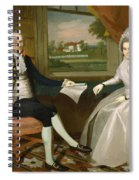 Oliver And Abigail Wolcott Ellsworth 1801 Spiral Notebook
