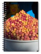 Olives For Sale In Market, Essaouira Spiral Notebook