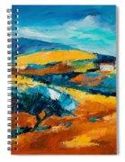 Oliviers En Provence Spiral Notebook