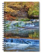 Olmsted Waterfalls Spiral Notebook