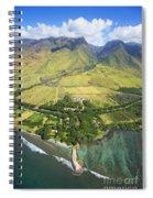 Olowalu Aerial Spiral Notebook