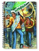 Olympia Brass Band Spiral Notebook