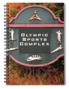 Olympic Complex  Spiral Notebook