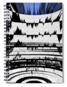 Olympics Abstract Spiral Notebook