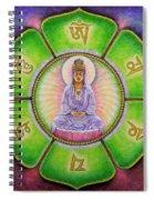 Om Mani Padme Hum Kuan Yin Spiral Notebook