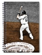 Omar Quintanilla Pro Baseball Player Spiral Notebook