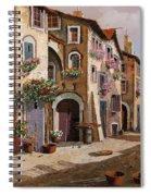 Ombre Per Strada Spiral Notebook