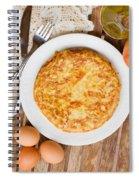Omelette Tortilla Spiral Notebook