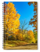 On A Country Road 6 Spiral Notebook