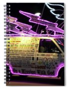 On A Mission With God Spiral Notebook