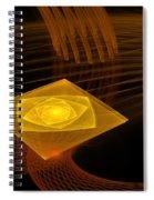 On A Pedestal Spiral Notebook