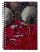 On A Rainy Day Its Fine To Be Inside Spiral Notebook