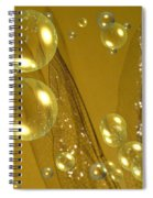 On Angel's Wings Spiral Notebook