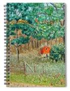 On Big Laurel In Autumn No.2 Spiral Notebook