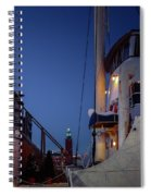 On Board  Spiral Notebook