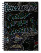 On  Camera--america The Addicted Series Spiral Notebook