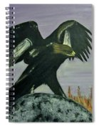 On Eagles Wings Spiral Notebook