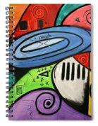 On Earth As It Is In Heaven Spiral Notebook
