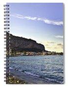 On Mondello Beach Spiral Notebook
