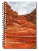 Sedona - On Sacred Ground Spiral Notebook