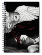 On Silent Wings Spiral Notebook