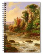 On St Annes East Canada Spiral Notebook
