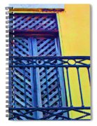 On The Balcony Spiral Notebook