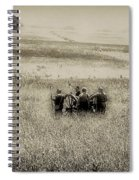 On The Battlefield - Gettysburg Spiral Notebook