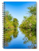 On The Bayou 3 Spiral Notebook