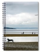 On The Beach Spiral Notebook