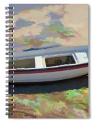 On The Beach Mykonos Greece Spiral Notebook