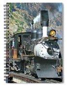 On The Bridge Spiral Notebook