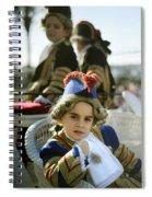 On The Carriage Spiral Notebook