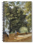 On The Castle Wall, Exeter Spiral Notebook