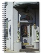 On The Corner Spiral Notebook