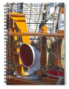 On The Deck Of James Craig Spiral Notebook