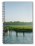 On The Docks Spiral Notebook