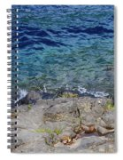 On The Edge Of The Crescent Spiral Notebook