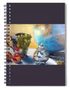 On The Etagiere Spiral Notebook