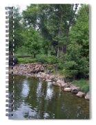 On The Grounds At Cryastal Bridges Spiral Notebook