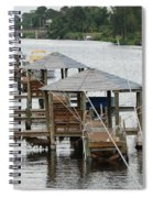 On The Hillsboro Canal Spiral Notebook
