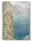 On The Italian Coast Spiral Notebook