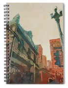 On The Loop Spiral Notebook