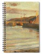 On The North Devon Coast Spiral Notebook