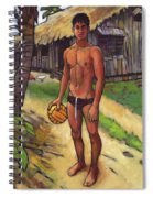 On The Old Beach Road Spiral Notebook