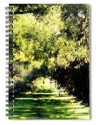 On The Path Spiral Notebook