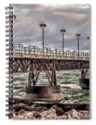 On The Pier Spiral Notebook