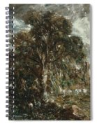 On The River Stour Spiral Notebook
