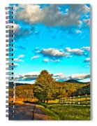 On The Road In Wv Spiral Notebook