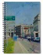 On The Road To Aix Spiral Notebook